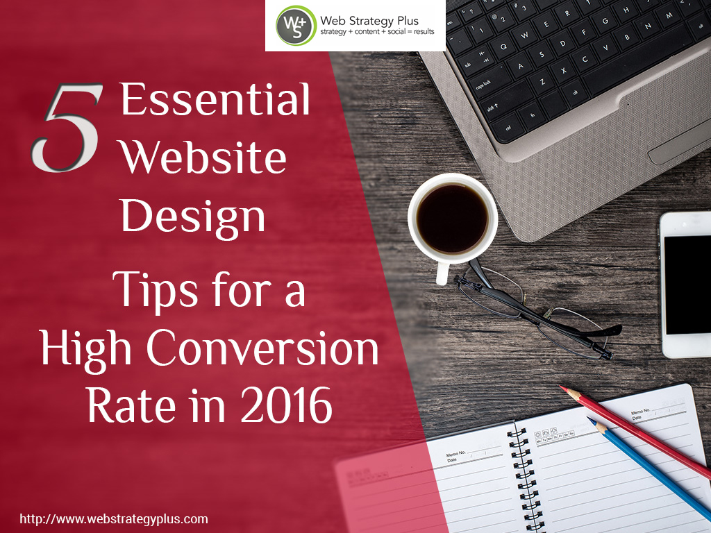 Website Design Tips for a High Conversion Rate