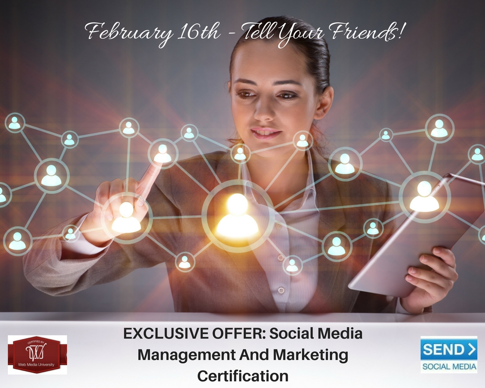 EXCLUSIVE OFFER- Social Media Management And Marketing Certificatio1
