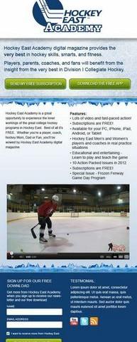 Hockey East Academy