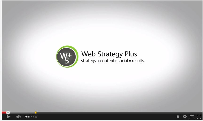 Web Strategy Plus Video