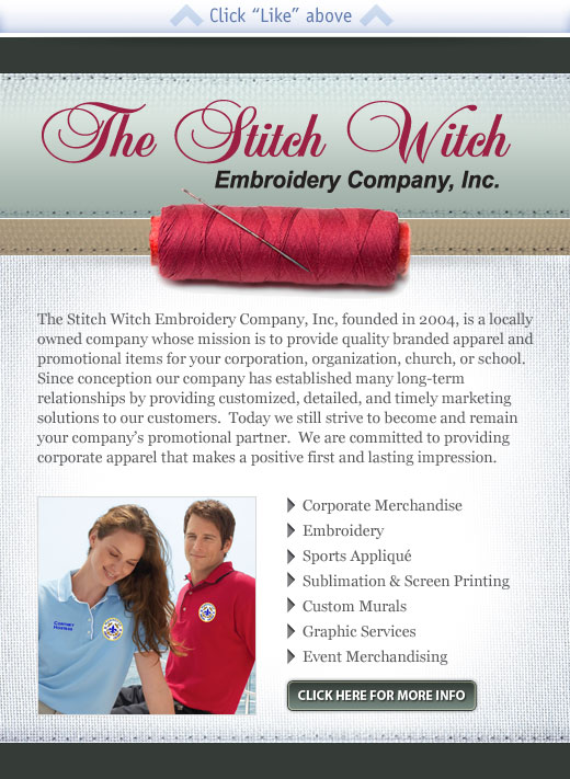 Stitch Witch Web Design