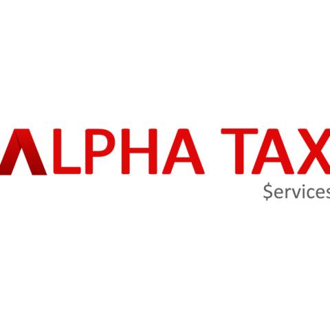 Alpha Tax Service Logo