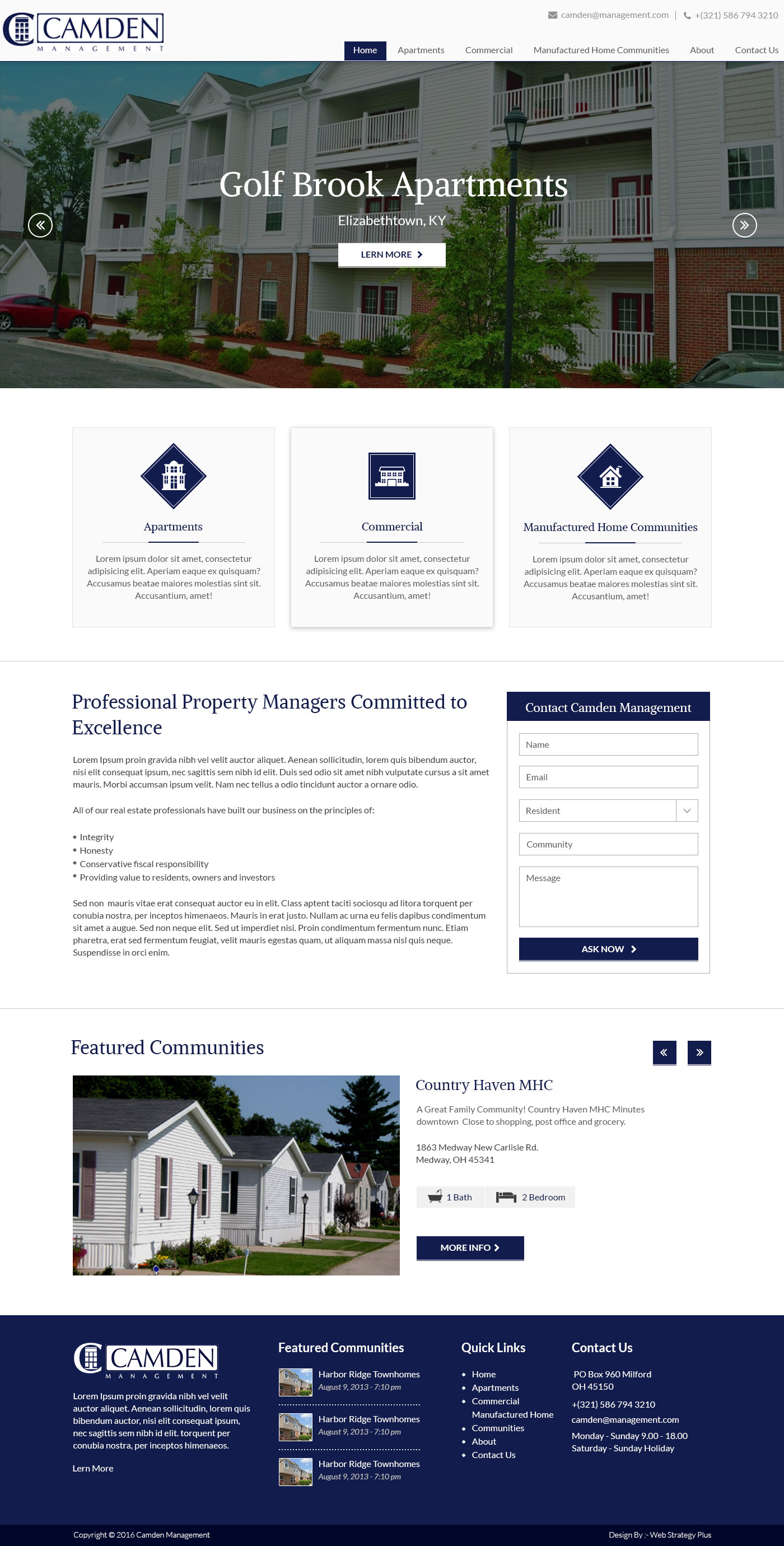 Camden Property Management