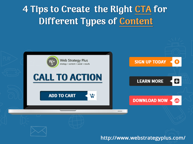 Tips to Create the Right CTA for Different Types of Content