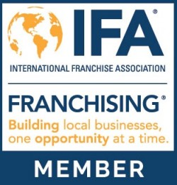 Now a Proud Member of the International Franchise Association