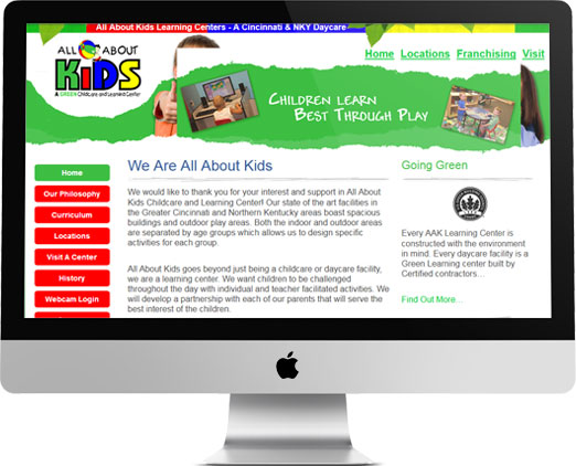 All About Kids Website