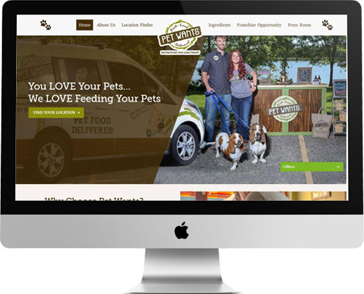 Pet Wants Website