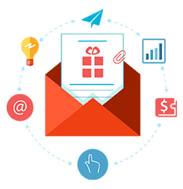 Email Management Dashboard & Marketing Image