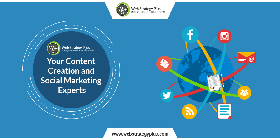 Web Strategy Plus, Your Content Creation and Social Marketing Experts