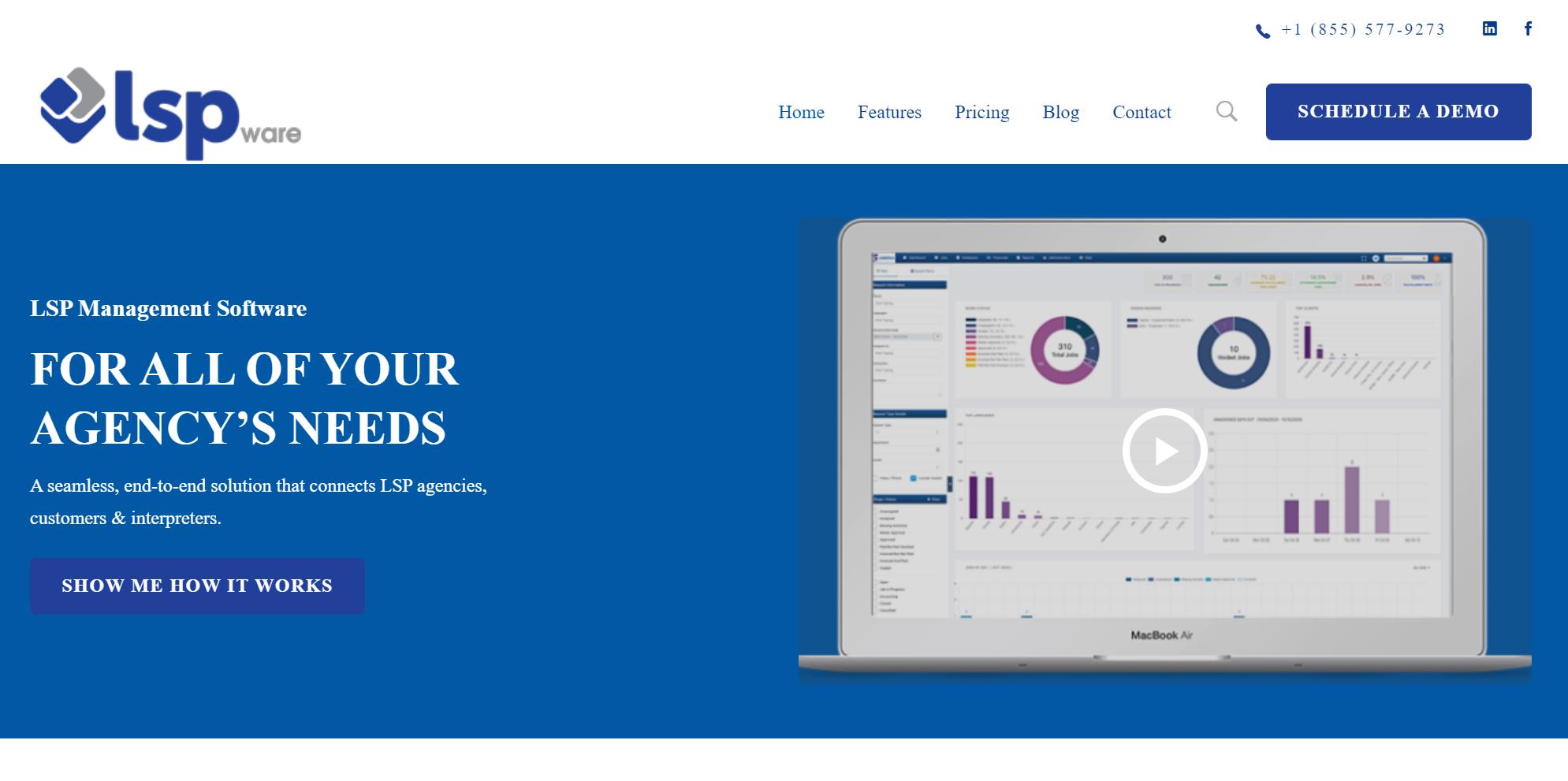 LSP Management Software